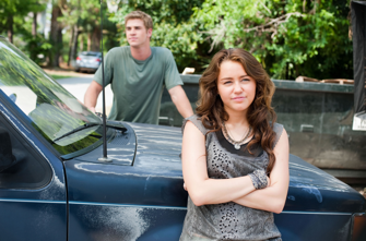 """Miley Cyrus and Liam Hemsworth in """"The Last Song"""""""